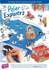 Scribble down polar explorers