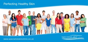 Specialist skin clinic graphics internal