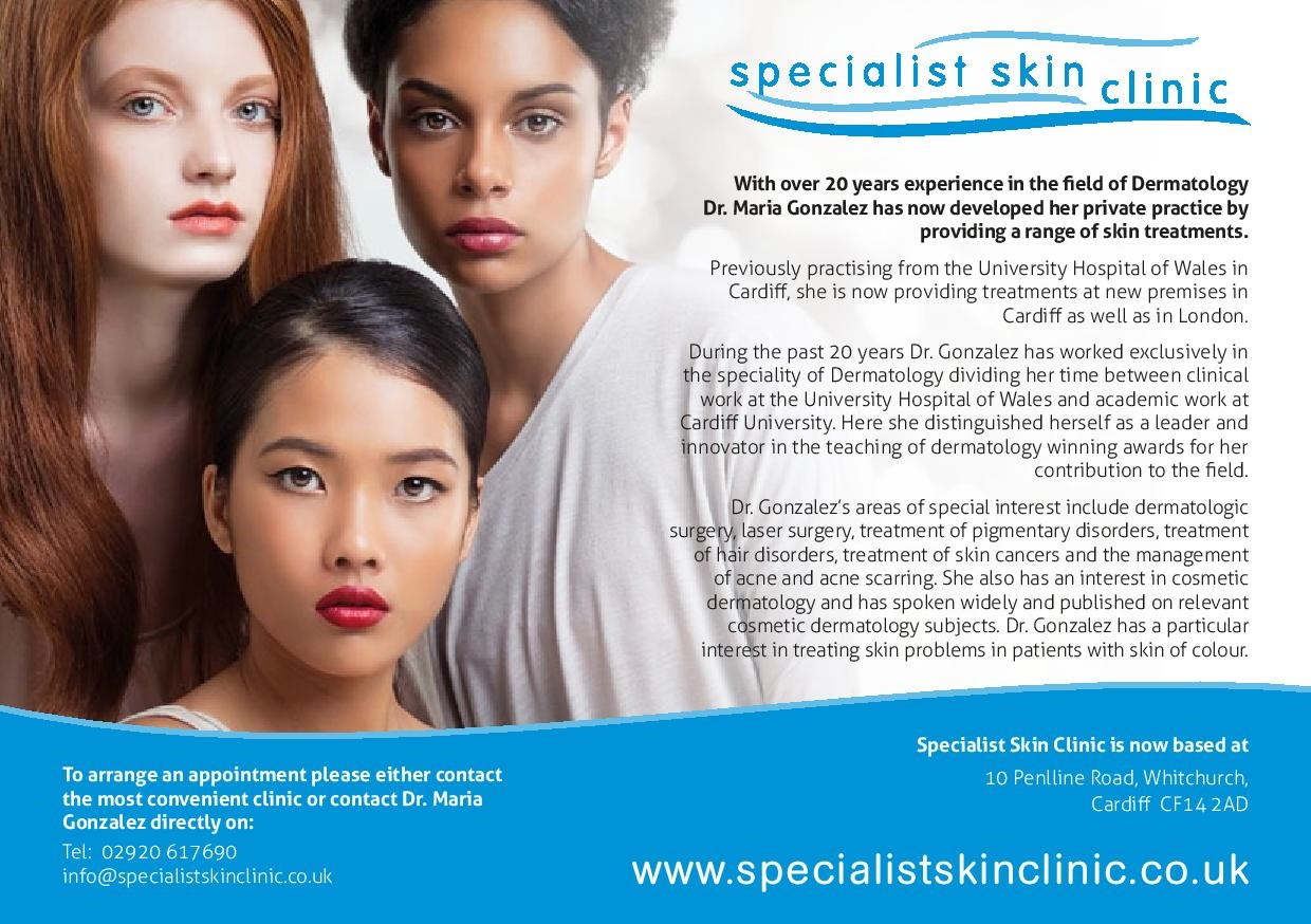 Specialist Skin Clinic Leaflet Jan 14 - Version 2 - Draft 1b