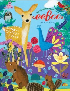 eeBoo toys and gifts spring catalogue