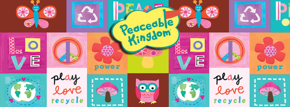Peaceable Kingdom toys distributed by Stepping Stones Marketing