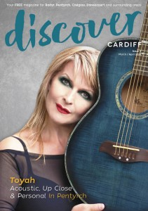 Discover Cardiff Magazine March 2016 -Toyah Willcox
